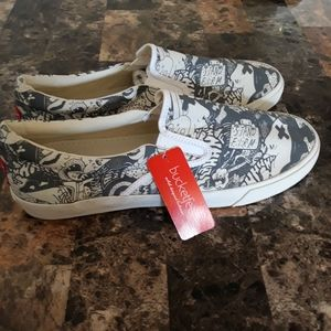 Bucketfeet canvas shoes mens size 10